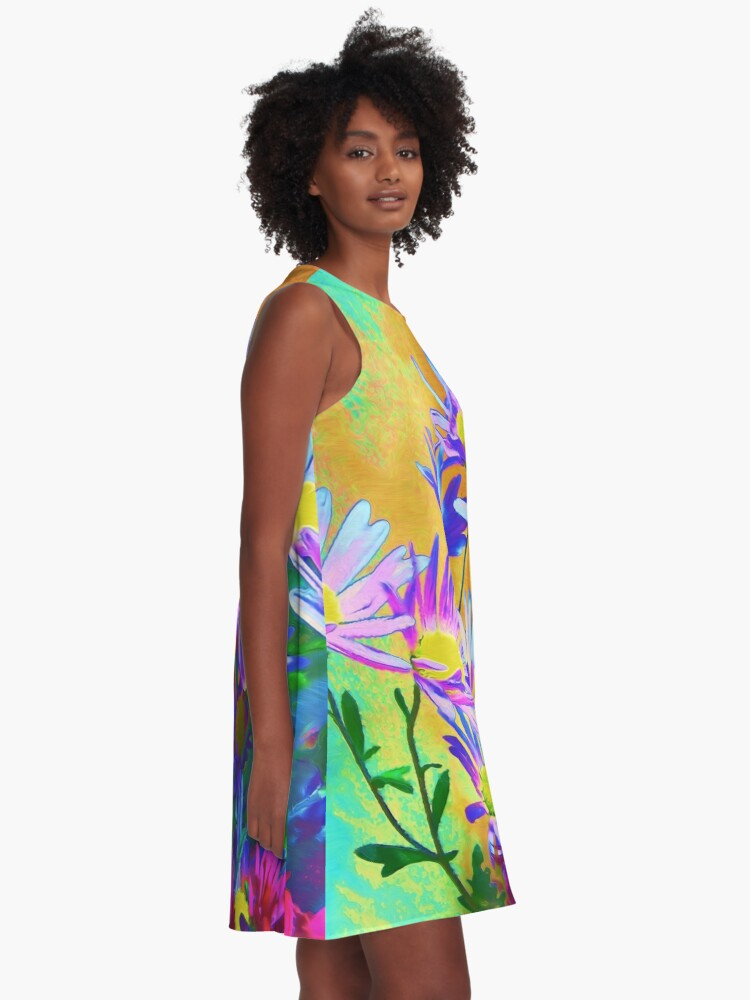 Alternate view of Flowers bloom A-Line Dress