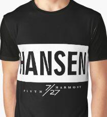Hansen 7/27 - White Graphic T-Shirt