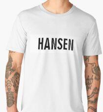 Hansen 7/27 - White Men's Premium T-Shirt