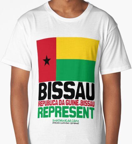 Guinee Bissau. Represent Long T-Shirt