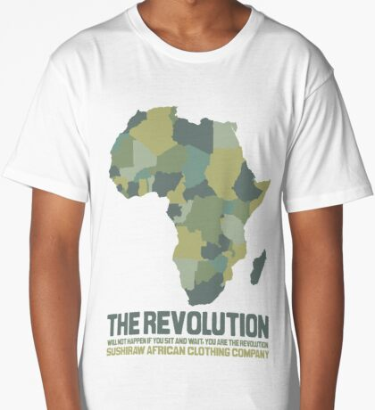 The African Revolution Long T-Shirt