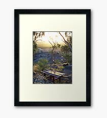 picnic location Framed Print