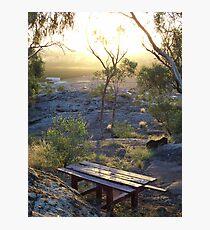 picnic location Photographic Print