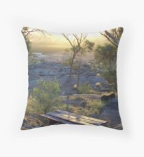 picnic location Throw Pillow