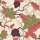 Floral seamless pattern by Olga Altunina