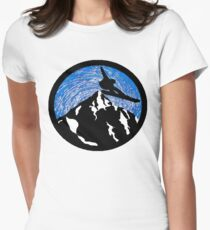 Spiritual Altitude Womens Fitted T-Shirt