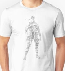 Metal Gear Solid - Solid Snake - Typography T-Shirt