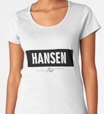 Hansen 7/27 - Black Women's Premium T-Shirt