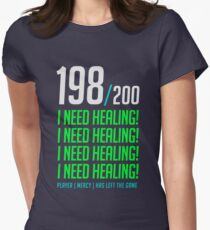 198/200  I NEED HEALING! player has left. Women's Fitted T-Shirt