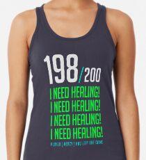 Camiseta de tirantes para mujer 198/200 ¡NECESITO SANIDAD! el jugador se fue
