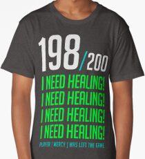 198/200  I NEED HEALING! player has left. Long T-Shirt