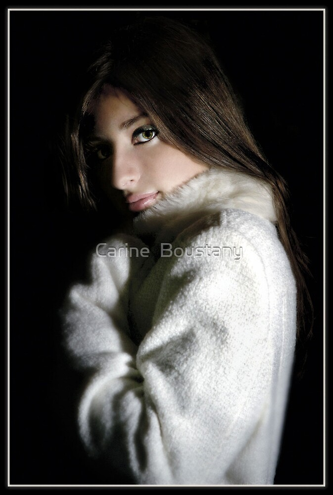 Girl And Her Coat by Carine  Boustany
