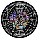 Zodiac Wheel by FRANKEY CRAIG