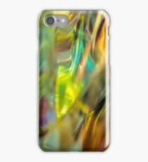 Leaves on the grass iPhone Case/Skin