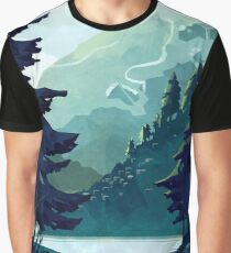 Canadian Mountain Graphic T-Shirt