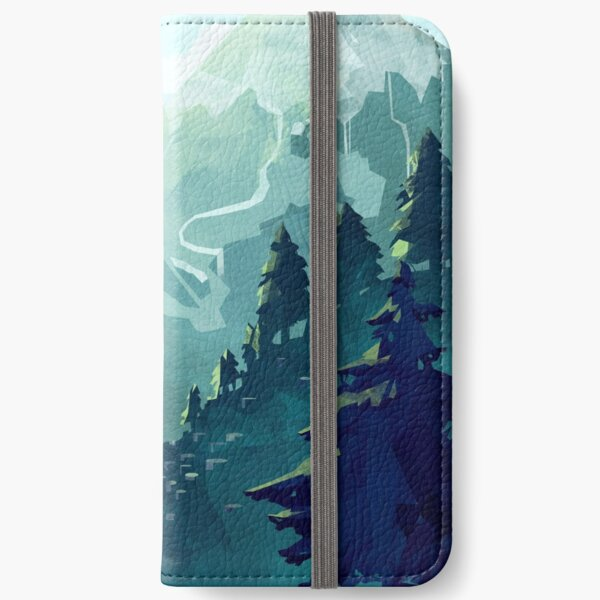 Canadian Mountain iPhone Wallet
