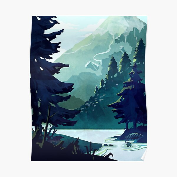 Canadian Mountain Poster