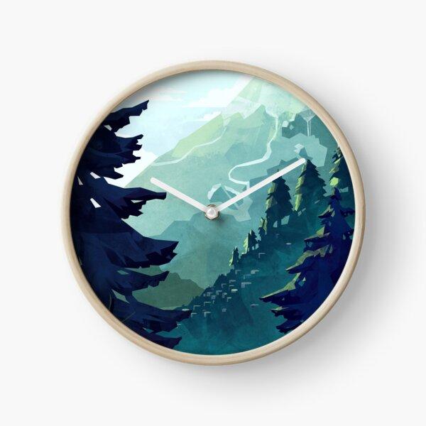 Canadian Mountain Clock