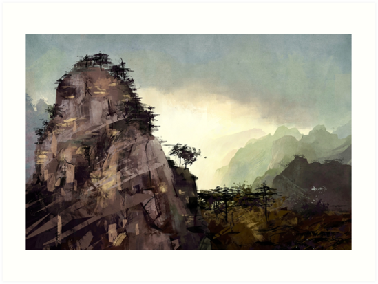 Misty Mountain by MicaelaDawn