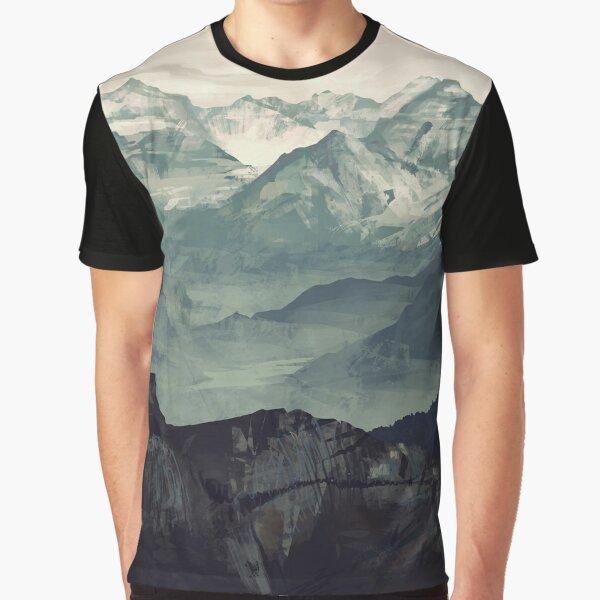 Mountain Fog Graphic T-Shirt