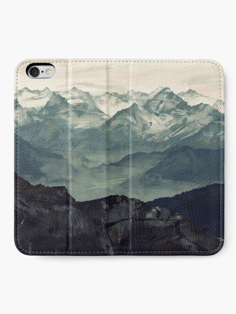 Alternate view of Mountain Fog iPhone Wallet