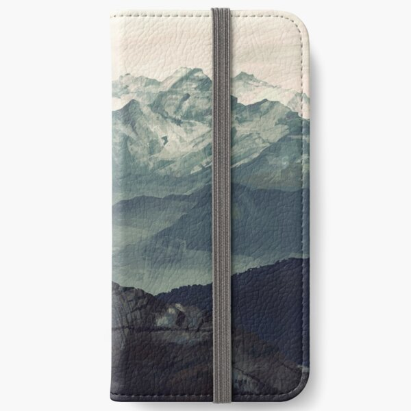 Mountain Fog iPhone Wallet