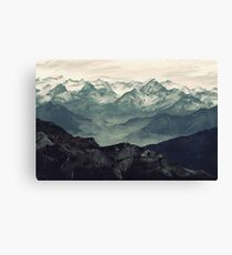 Lienzo Niebla de montaña