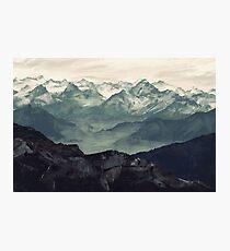 Mountain Fog Photographic Print