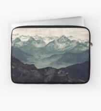 Berg Nebel Laptoptasche