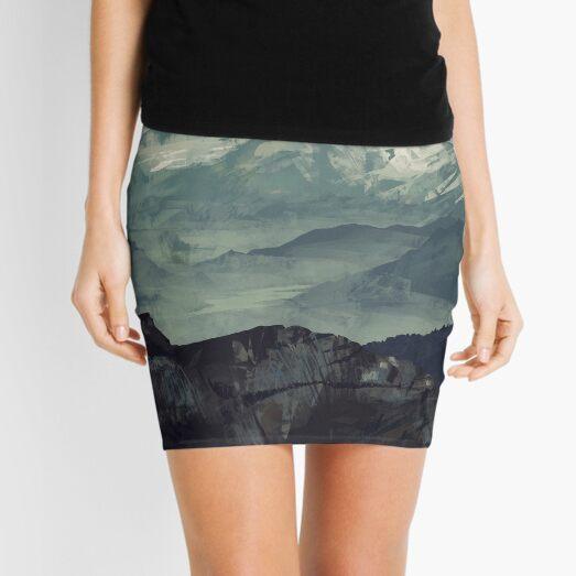 Mountain Fog Mini Skirt