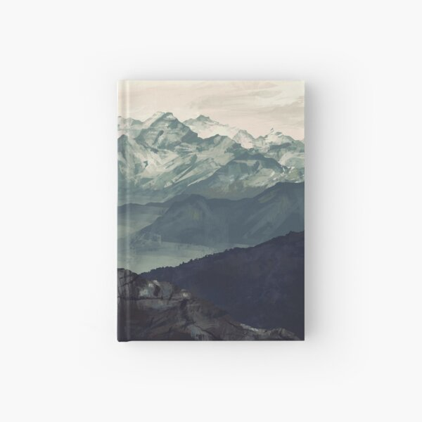 Mountain Fog Hardcover Journal