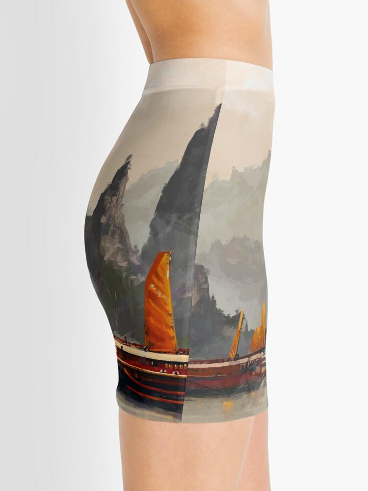 Alternate view of Ha Long Bay Mini Skirt
