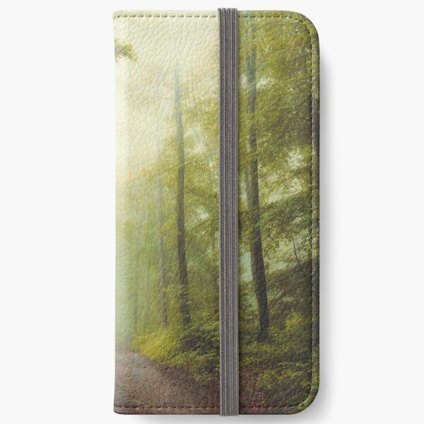 Long Forest Walk iPhone Wallet