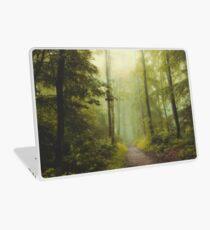 Long Forest Walk Laptop Skin