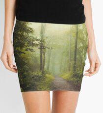 Long Forest Walk Mini Skirt