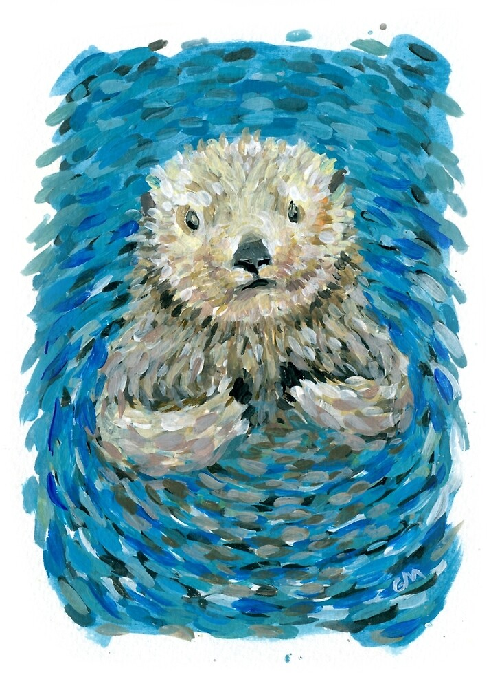otter by Gregory Moore