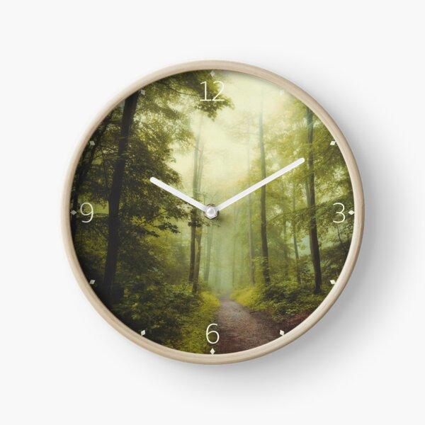 Long Forest Walk Clock