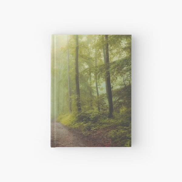 Long Forest Walk Hardcover Journal