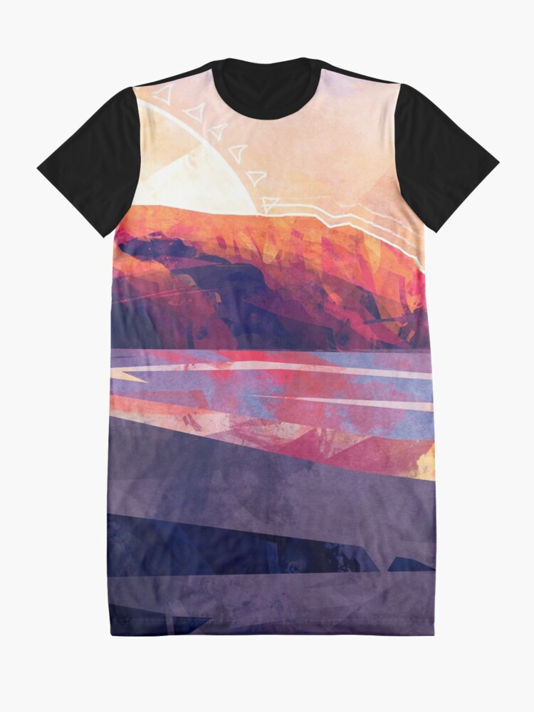 Alternate view of Table Mountain Graphic T-Shirt Dress