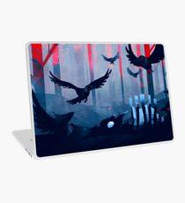 Blaue Steinlandschaft Laptop Folie