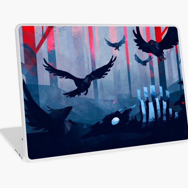 Blue Stone Landscape Laptop Skin