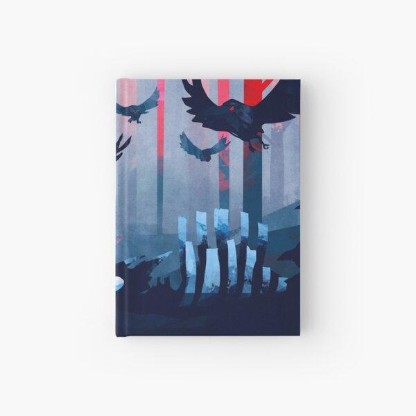 Blue Stone Landscape Hardcover Journal