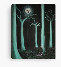 Alien Woods Canvas Print