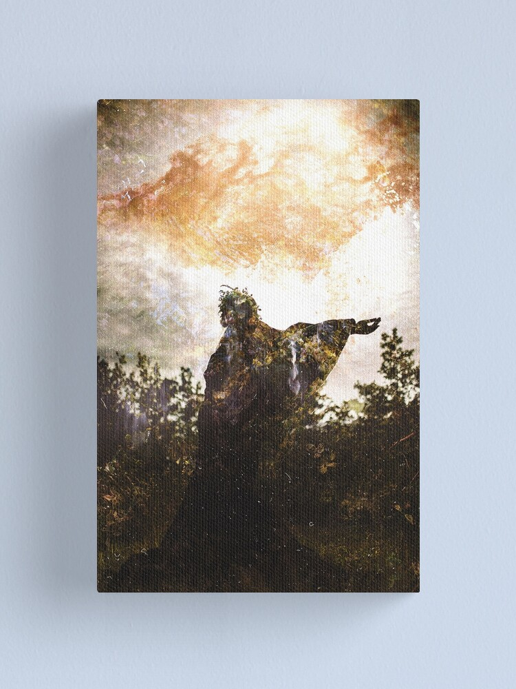Alternate view of L'Augure Canvas Print