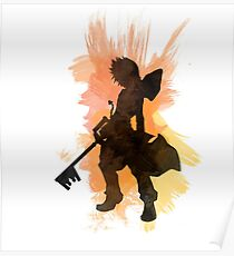 Kingdom Hearts: Aquarell Roxas Poster