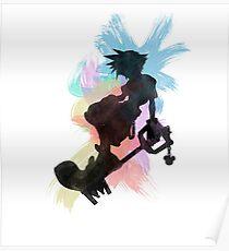 Kingdom Hearts: Aquarell Sora Poster