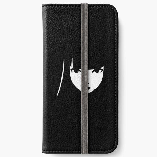 Emily the Strange: Emily's face iPhone Wallet