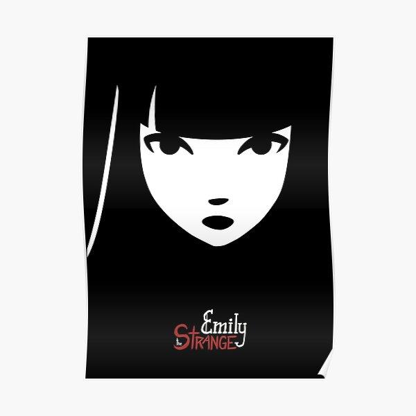 Emily the Strange: Emily's face Poster