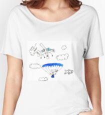 Parachuting Women's Relaxed Fit T-Shirt