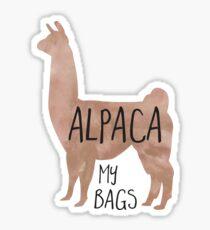 Alpaca my bags! Sticker